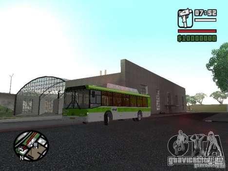 ЛиАЗ 5292.70 для GTA San Andreas вид слева