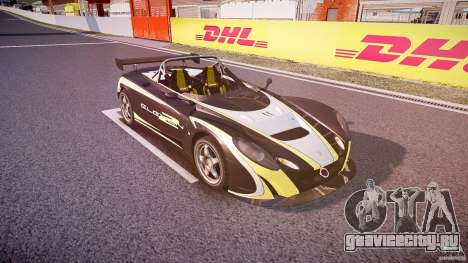 Lotus 2-11 для GTA 4 вид сбоку