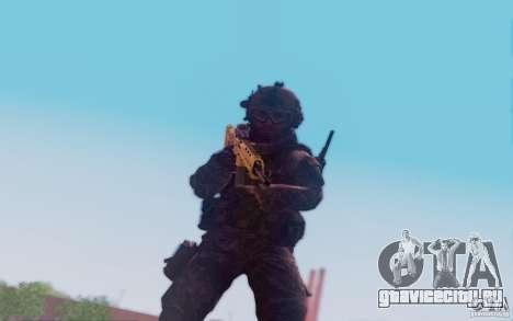 ACR с голографическим прицелом для GTA San Andreas четвёртый скриншот