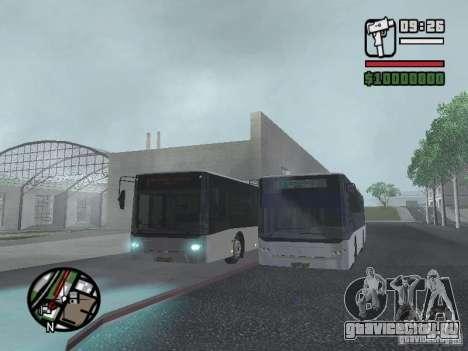 CityLAZ 12 LF для GTA San Andreas вид снизу