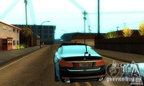 BMW 750Li для GTA San Andreas вид сбоку