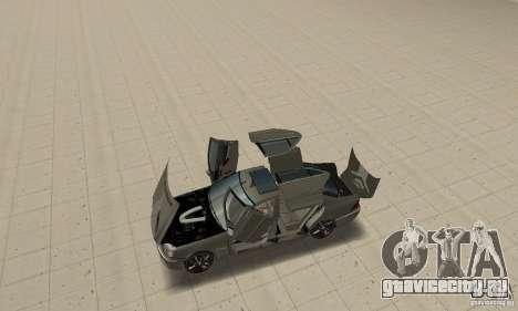 Mercedes Benz AMG S65 DUB для GTA San Andreas вид сзади