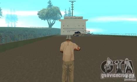 The G60 Ferry boat для GTA San Andreas вид изнутри