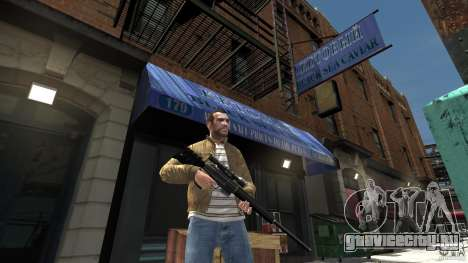 PSG1 (Heckler & Koch) для GTA 4