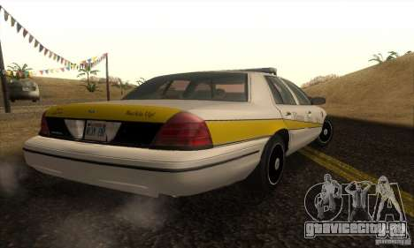 Ford Crown Victoria Illinois Police для GTA San Andreas вид слева