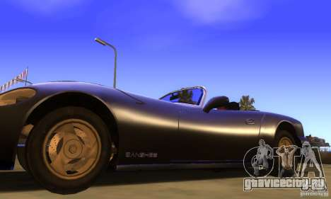 New Banshee [HD] для GTA San Andreas вид сзади слева
