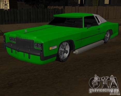 Cadillac Eldorado для GTA San Andreas вид сбоку