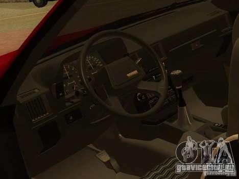 Toyota Celica Supra для GTA San Andreas вид сверху