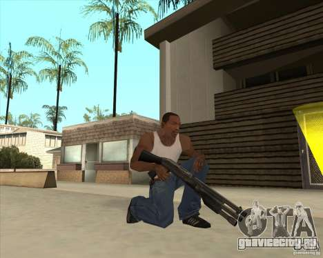Benelli M3 Super 90 для GTA San Andreas третий скриншот