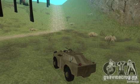 БРДМ-1 Скин 2 для GTA San Andreas вид справа