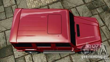 Mercedes-Benz G55 AMG для GTA 4 вид справа