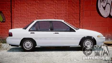 Mercury Tracer 1993 v1.0 для GTA 4 вид сбоку