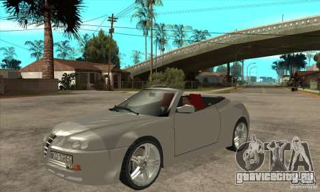 Alfa Romeo Spyder для GTA San Andreas
