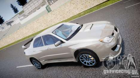 Subaru Impreza STI Wide Body для GTA 4