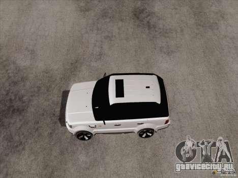 Range Rover Tuning для GTA San Andreas вид слева