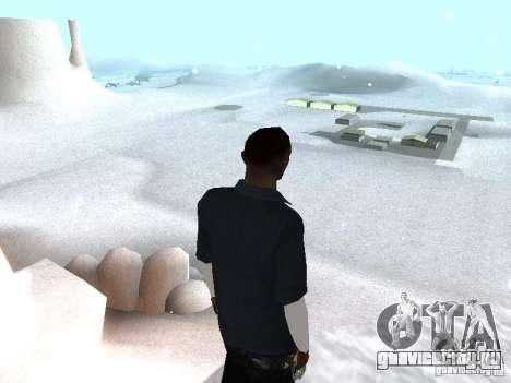 Snow MOD 2012-2013 для GTA San Andreas второй скриншот