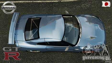 Nissan GT-R 35 rEACT v1.0 для GTA 4 вид справа