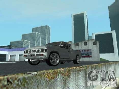 Nissan Pick-up D21 для GTA San Andreas вид слева