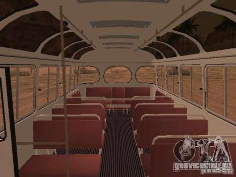 ПАЗ 672.60 для GTA San Andreas вид снизу