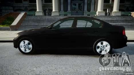 BMW 3-Series Unmarked [ELS] для GTA 4 вид слева
