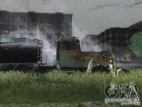 Armored Mack Titan Fuel Truck для GTA San Andreas вид сзади слева