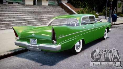 Plymouth Belvedere 1957 v1.0 для GTA 4 вид сверху