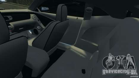 Chevrolet Camaro ZL1 2012 v1.0 Flames для GTA 4 вид изнутри