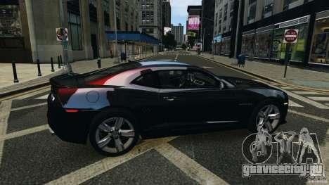 Chevrolet Camaro ZL1 2012 для GTA 4 вид сбоку