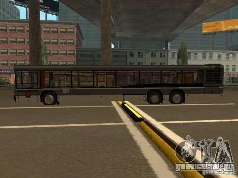 Маз 107.066 для GTA San Andreas вид сзади