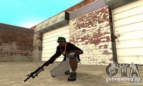 Browning M1919 для GTA San Andreas третий скриншот