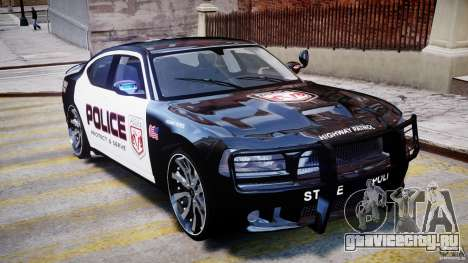 Dodge Charger NYPD Police v1.3 для GTA 4 вид сверху