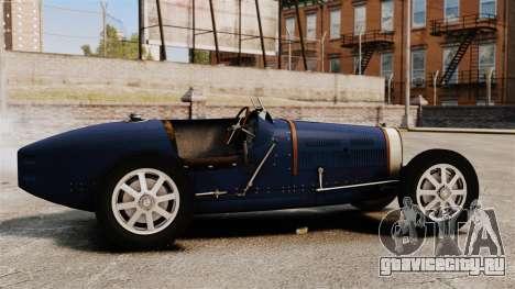 Bugatti Type 51 для GTA 4 вид слева