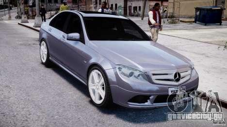 Mercedes-Benz C180 CGi Classic Special 2009 для GTA 4 вид сзади