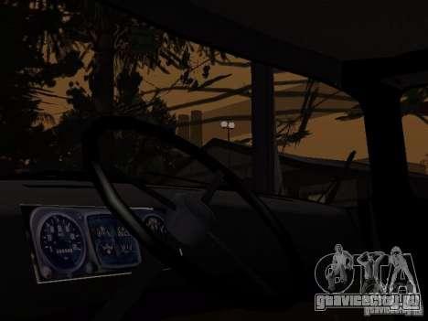 ЗиЛ 130 Милиция для GTA San Andreas вид сзади слева