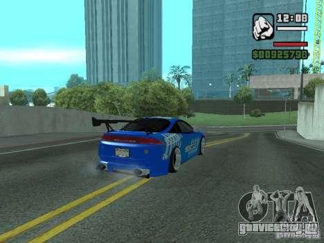 Mitsubishi Eclipse Tunning для GTA San Andreas вид слева