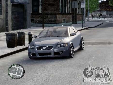 VOLVO C20 RSIGION для GTA 4 вид сзади слева