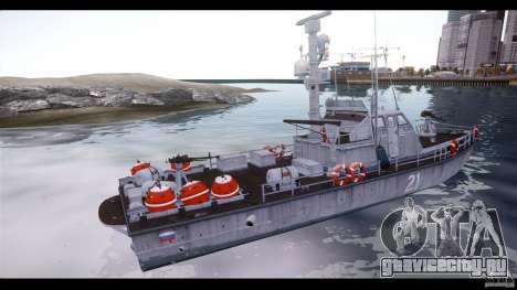 Russian PT Boat для GTA 4 вид слева