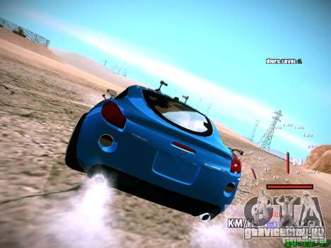 Pontiac Solstice Falken Tire для GTA San Andreas вид изнутри