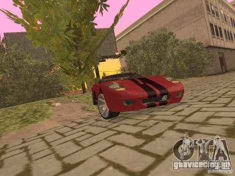 Bullet HQ для GTA San Andreas вид изнутри
