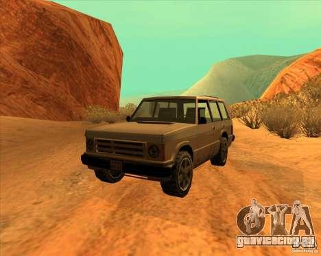 Huntley 1987 San Andreas Stories для GTA San Andreas