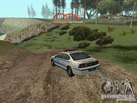 Police из ГТА 4 для GTA San Andreas вид справа