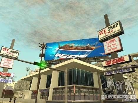 Новая реклама к модам для GTA San Andreas