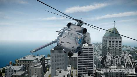 HH-60G Pavehawk для GTA 4 вид слева