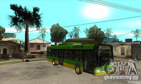 Solaris Urbino 11 для GTA San Andreas вид сзади