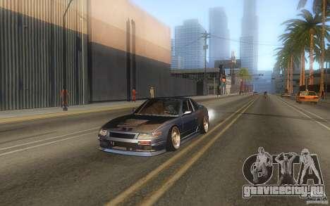 Nissan Silvia S13 Odyvia для GTA San Andreas вид сзади слева