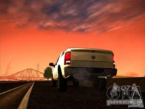 Dodge Ram Heavy Duty 2500 для GTA San Andreas вид слева