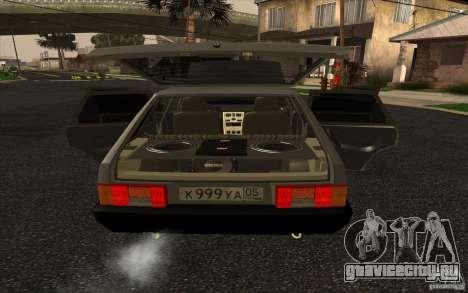 VAZ-2109 для GTA San Andreas вид справа