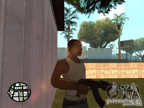 Новенький АК-47 для GTA San Andreas второй скриншот
