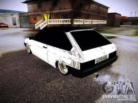 ВАЗ 2108 Хром для GTA San Andreas вид слева