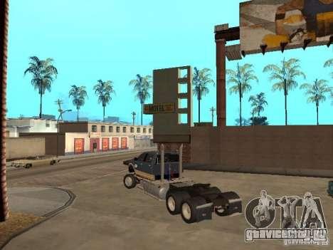 Dodge Ram для GTA San Andreas вид сзади